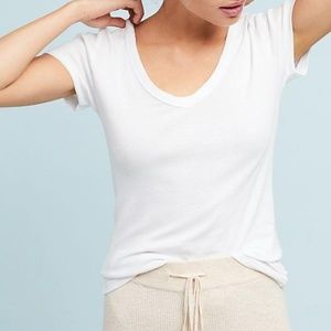 Anthropologie Saturday/Sunday Carrie V-Neck Tee